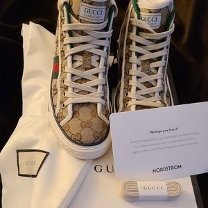 Authentic Gucci high tops